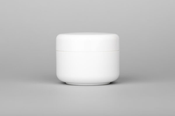 200 ml screw jar white